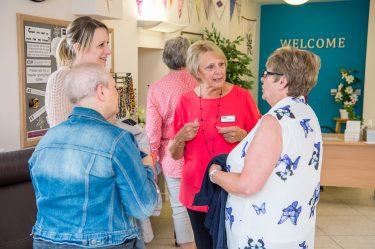 Photo in centre reception