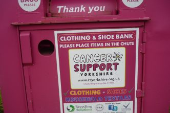 Cancer Support Yorkshire Clothing Bank