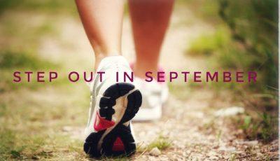 Step out in September Sponsored walk