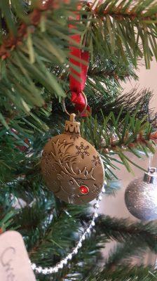 In memory of a loved one-reindeer decoarion